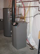 Radiant And DHW Boiler
